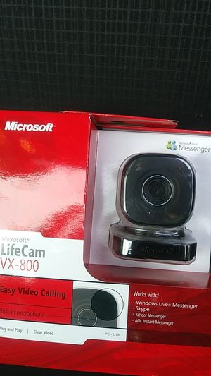 Microsoft LifeCam VX-800 for Sale in Adams Center, NY