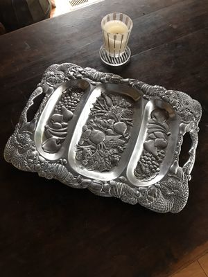 Beautiful Metal Dining Tray for Sale in Danville, CA