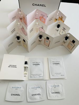 Chanel Perfume Collection Sample Size 13pc Set for Sale in Roseville, CA