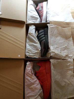 Size 10 Mens shoes Adidas, Nike [Air force 1, Nmd_r1] for Sale in Boston, MA