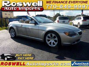 2006 BMW 6 Series for Sale in Austell, GA