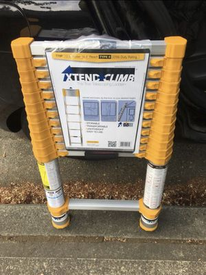 Telescope ladder 12.5ft for Sale in Portland, OR