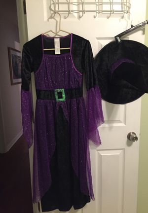 Girls pretty potion witch costume size L for Sale in Ruskin, FL