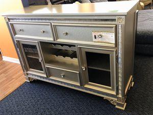 New Silver Bar w/Wine Rack & Storage for Sale in Virginia Beach, VA