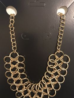 Gold tone Necklace for Sale in Puyallup,  WA