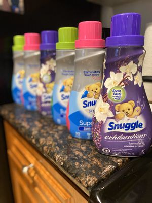 Snuggle Fabric Conditioner 30 Loads (6) For $18 (7) For $20 for Sale in Stoneham, MA