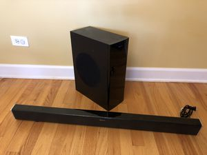 """Nakamichi NK12 Soundbar 400W 38"""" Subwoofer for Sale in Arlington Heights, IL"""