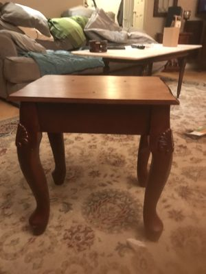 Small vintage solid wood table for Sale in Alexandria, VA