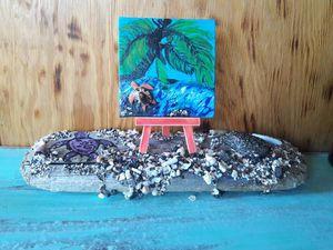 Small hand painted canvas for Sale in Kailua-Kona, HI