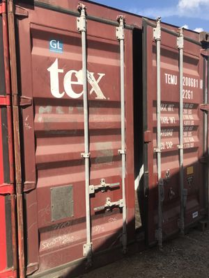 Shipping container cargo container storage storage shed 20foot shipping container 20' shipping container 20' container transport shipping container for Sale in Yorba Linda, CA