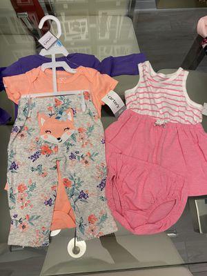 New Carter's 6 months (5 pieces) for Sale in Wesley Chapel, FL