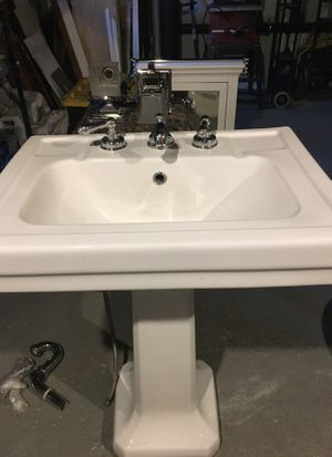 Bathroom sink and accessories for Sale in Portland, OR