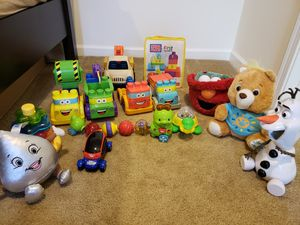 Baby playing mat n toys for Sale in Sterling, VA