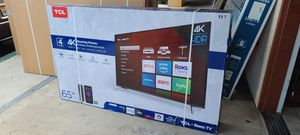 """65"""" TCL 4 series 4k UltraHD Smart Roku HDR LED Tv for Sale in Poway, CA"""