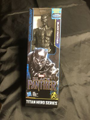 BLACK PANTHER COLLECTIBLE ACTION FIGURE for Sale in Watertown, CT