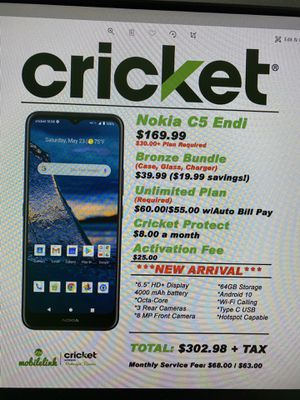 Nokia C5 Endi for Sale in Bridgeville, DE