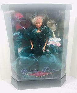 Vintage 1992 Mattel Barbie Birthday Treasures LTD Edition MAY Doll for Sale in Pawtucket,  RI