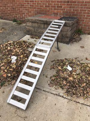 Folding aluminum dirtbike ramp for Sale in Pittsburgh, PA
