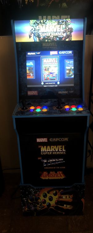 1up 3 game arcade 5ft for Sale in Queens, NY