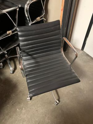 Office chairs black & chrome for Sale in Anaheim, CA