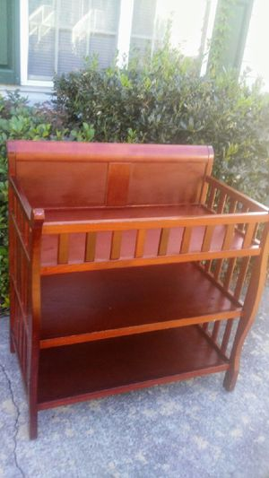 Changing Table - Cherry for Sale in Kannapolis, NC