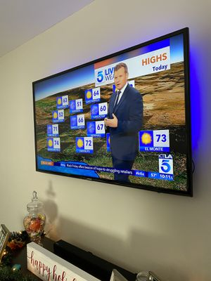 55inch Samsung TV, HD, Smart TV for Sale in Lakewood, CA