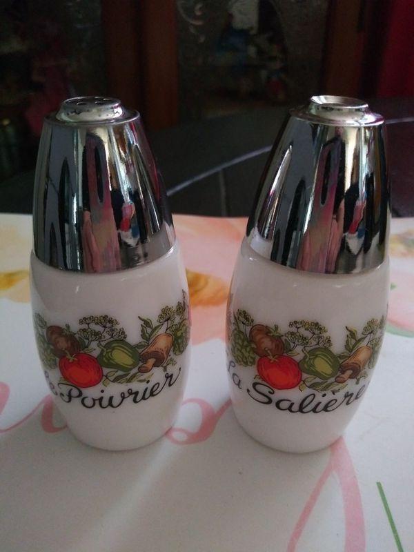 Vintage Salt & Pepper Shakers