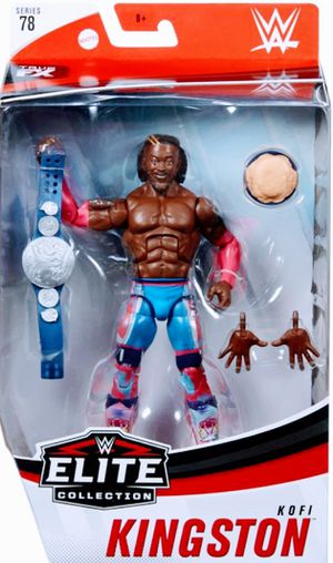 New WWE Elite Collection Kofi Kingston Action Figure. for Sale in Apopka, FL