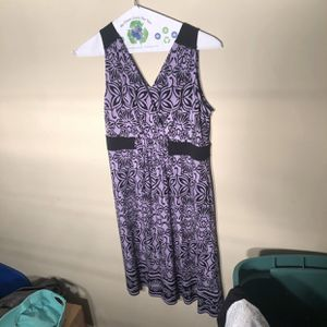 Apt 9 Purple Floral Midi Dress for Sale in Kernersville, NC