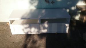 Ikea white tv stand in great condition for Sale in San Diego, CA