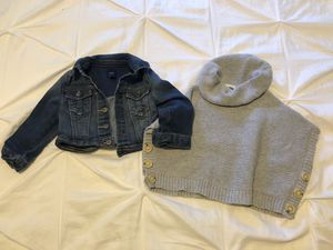 Baby girl jacket & sweater for Sale in Gainesville, VA