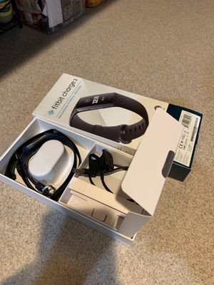 Fitbit Charge 3 HR with Navy Band for Sale in Tucson, AZ