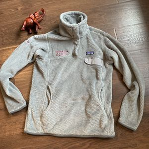 Patagonia Grey Retool Snap T Fleece Pullover for Sale in Chicago, IL