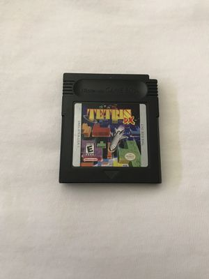 Nintendo Game Boy Game: Tetris Dx Cartridge In Great Condition Plays Fine for Sale in Reedley, CA