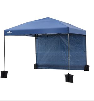 Canopy with Weight Bars and carrying bag for Sale in Riverside, CA