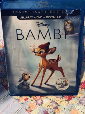 Bambi blue ray for Sale in Apopka, FL