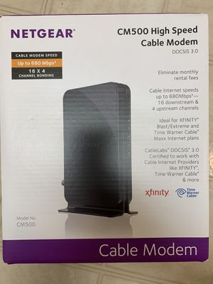 Cable modem for Sale in Old Bridge Township, NJ