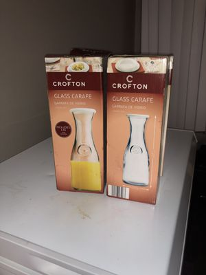 Crofton Glass carafe for Sale in Silver Spring, MD