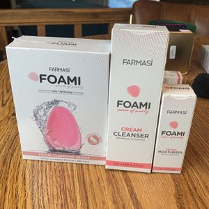 Farmasi Facial Cleanser Device Cream And Serum Moisture for Sale in San Jose, CA