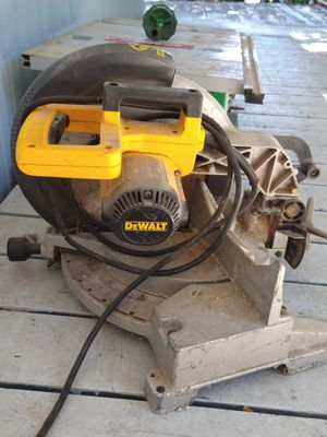 DeWalt chop saw for Sale in Springfield, OR