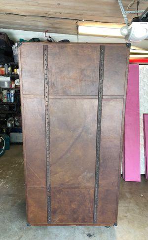 Restoration Hardware - MAYFAIR STEAMER TRUNK SECRETARY - VINTAGE CIGAR for Sale in La Jolla, CA