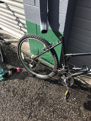 mountain bike being fixed up 26 inch. Huffy for Sale in Salt Lake City, UT