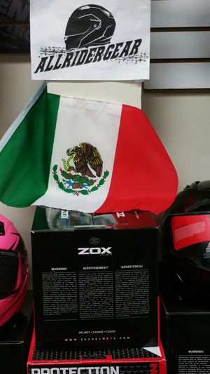 Flag Whips for dirt bikes quads side by side Mexican Flag (new) for Sale in San Diego, CA