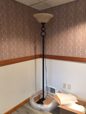 Bronze floor lamp for Sale in Pittsburgh, PA