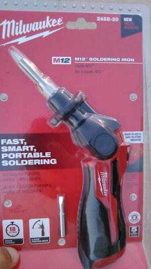 Milwaukee Soldering iron for Sale in Bakersfield, CA