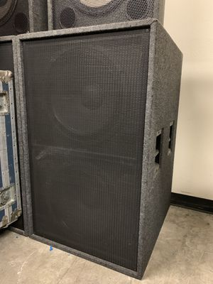 """4- Custom Dbl 18"""" Pro Subwoofers.. Tuned and loaded with P-Audio EL650 for Sale in Montebello, CA"""