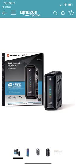 Arris/Motorola SB6121 DOCSIS 3.0 Cable Modem for Sale in Germantown,  MD