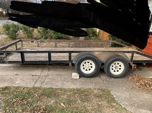 16 ft long and 6 wide trailer/16 pies and 6 ancho for Sale in Grand Prairie, TX