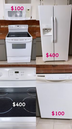 White kitchen appliances for Sale in Kissimmee, FL