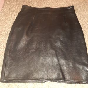 Evan Arpelli vintage leather pencil skirt for Sale in Austin, TX